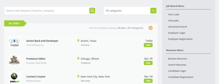 Free WordPress Job Board Theme - Jobeleon