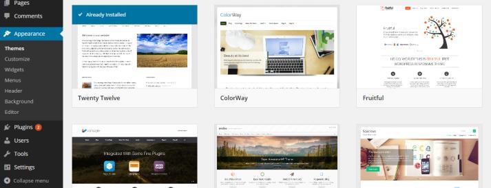 Works with ANY WordPress Theme