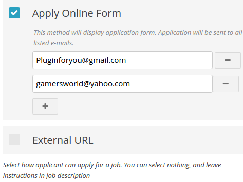 Application Methods Wpjobboard Kb